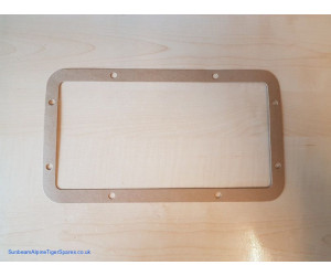 Heater matrix cover gasket