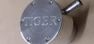 Aluminium oil filler cap (Tiger)
