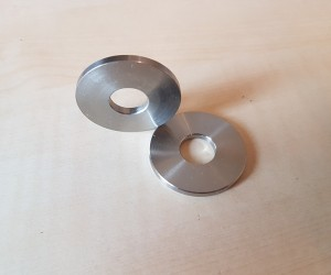 Lower fulcrum pin outer washers (pair)