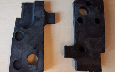 Hardtop toggle clamp gaskets (pair)