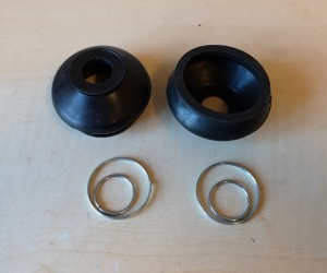 Lower ball joint boots (pair)